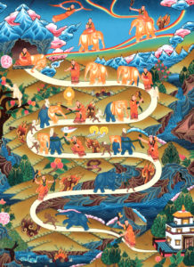 samatha-meditation-thangka-painting